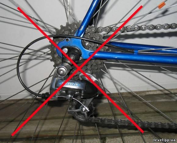 Ремонт переключателя скоростей велосипеда своими руками 44
